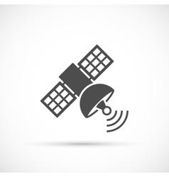 Satellite signal icon vector