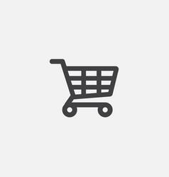 store flat icon design shop icon design vector image