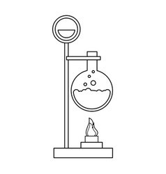 Test tube icon image vector