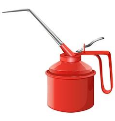 An oil can vector