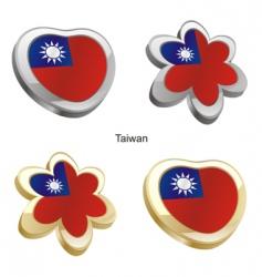 flag of Taiwan vector image vector image