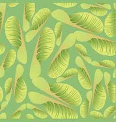 abstract floral tile pattern garden leaves vector image