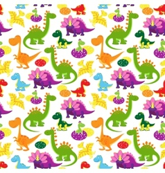 Badinosaurs pattern vector