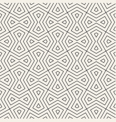 seamless geometric pattern modern simple vector image