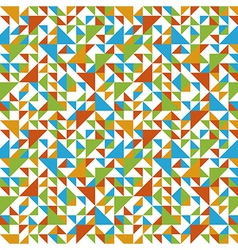 Seamless triangle background contrast vector