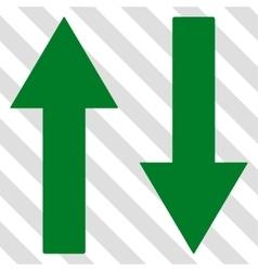 Vertical Flip Arrows Icon vector