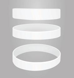 White bracelet vector
