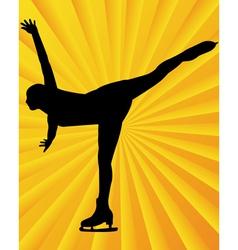 Figure skater3 vector