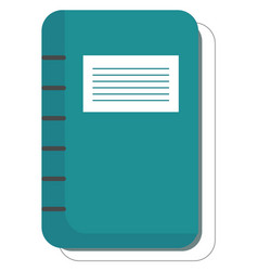 Bond note book or color vector