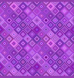 geometrical diagonal square pattern - mosaic tile vector image