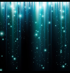 glow light motion abstract blue background vector image