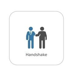 Handshake Icon Business Concept vector image