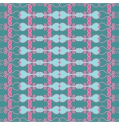 Seamless pattern design vector image