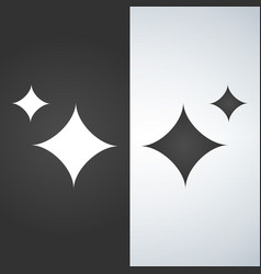 Stars of brilliance and radiance of cleanliness vector
