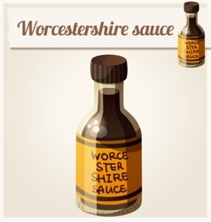 Worcestershire sauce Detailed Icon vector