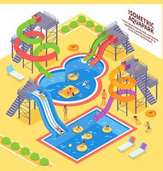 Aqua park vector
