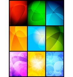 simple backgrounds vector image vector image