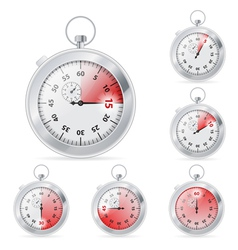 Timer vector image