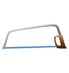 A bow saw vector