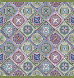 abstract seamless diagonal mosaic pattern vector image