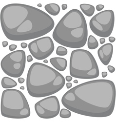Abstract stone background set Seamless vector