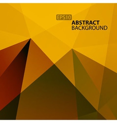 Abstract warm geometric background for your design vector