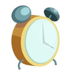 Alarm clock icon cartoon style vector image