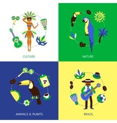 Brazil Design Concept vector