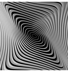 Design monochrome whirl ellipse motion background vector