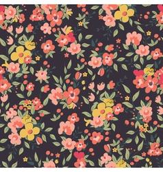 Floral seamles vector