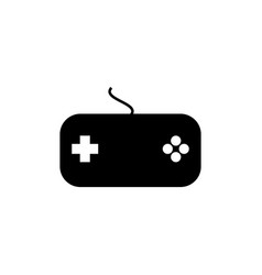 joystick icon for web and mobile vector image