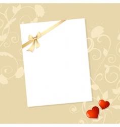 letter valentine vector image