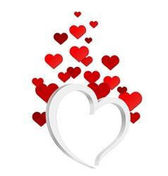 Love is eternal vector