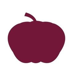 Pumpking vegetable health icon vector