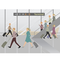 Terminal Airport vector image