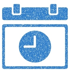 Time Schedule Grainy Texture Icon vector