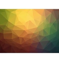 Triangle retro colorful background vector image