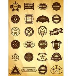 Big set of vintage labels vector image vector image