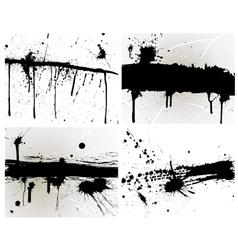 splash set vector image