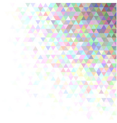 abstract triangle pattern background - modern vector image