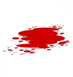 blood splashes vector image