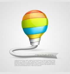 creative light of the tape vector image