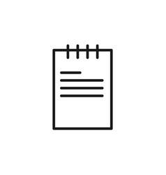 document icon graphic design template vector image