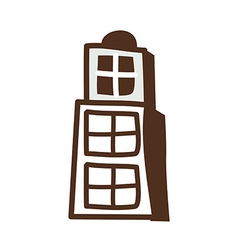 One building vector