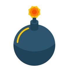 phishing bomb icon isometric style vector image