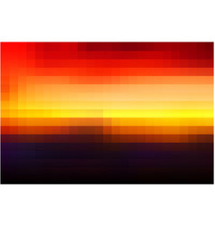 Purple orange yellow red brown mosaic square vector