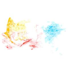 Splatter color background vector