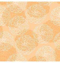 Zinnia pattern vector