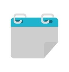 calendar template paper vector image