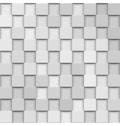 abstract 3d squares vector image